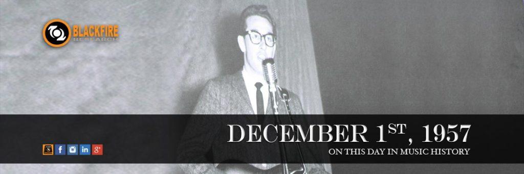 Throwback Thursday: Buddy Holly & The Crickets Go On The Ed Sullivan Show