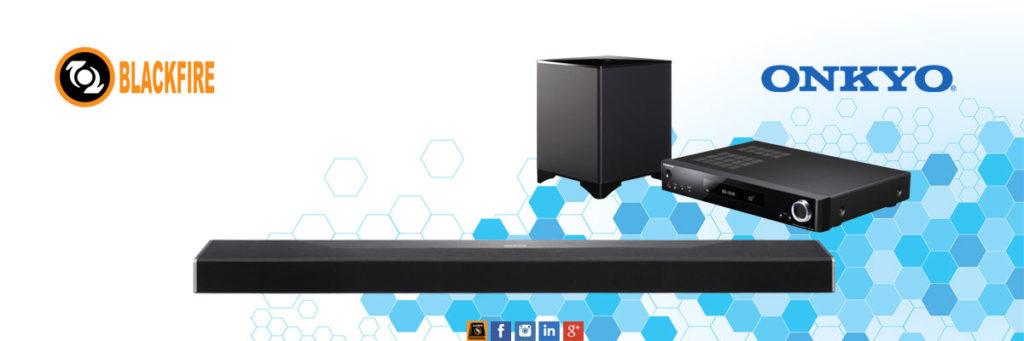 Powered by Blackfire: Onkyo LS7200 3D Soundbar System